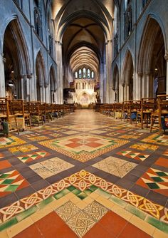 St. Patrick's Cathedral, Dublin Had he pleasure of hearing a boys choir sing on St. Patrick's Day here, it was AMAZING