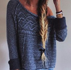 jodiesara.   via Tumblr #fashion,  #blonde  winter