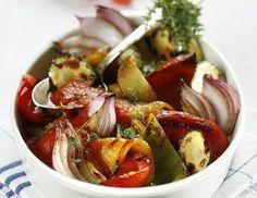 Ratatouille vom gegrillten Gemüse - Rezept - ichkoche.at