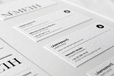 Nemeth identity and webdesign / 2012 by kissmiklos , via Behance