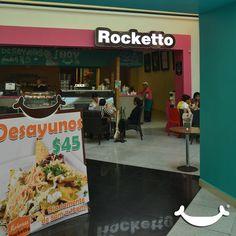 Desayuna muy rico al mejor precio!!! En Rocketto. https://www.facebook.com/RockettoTehuacan?hc_location=timeline