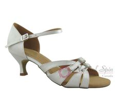 Natural Spin Latin Shoes(Open Toe, Adjustable):  M1131-07A_IvJS