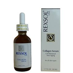 REXSOL Collagen serum Cell Renewal Antiaging -- Details can be found by clicking on the image.
