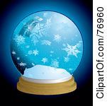Elegant large snow globe with Large Icy Snowflakes - Bing Images
