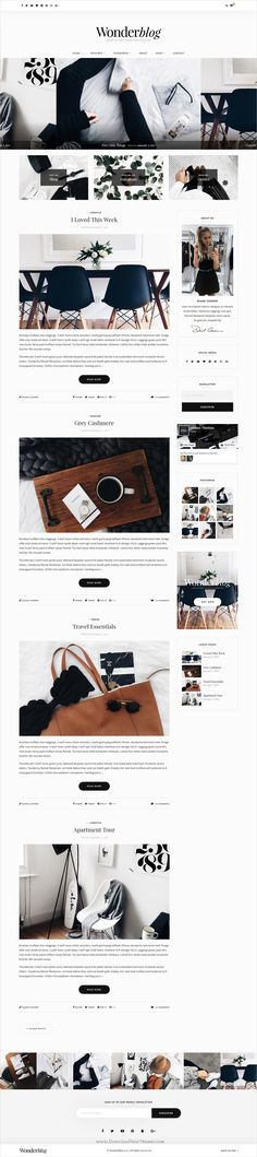Wonderblog is ultra professional, smooth and sleek responsive #WordPress #blog #theme for creative writer and blogger websites with multiple homepage layouts download now➩ https://themeforest.net/item/wonderblog-a-responsive-wordpress-blog-shop-theme/19287284?ref=Datasata