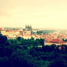 Petrin hill, Prague 2009 Prague, Pretty Pictures, Paris Skyline, To Go, Amazing, Travel, Cute Pics, Viajes, Cute Pictures