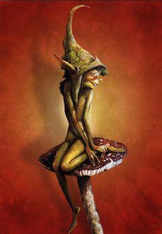 By Brian Froud goblins  | Menu