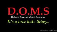*snerk* - my inner masochist loves her DOMS. Love Fitness, Fitness Tips, Health Fitness, Powerlifting Motivation, Fitness Motivation Quotes, Workout Motivation, Pilates Workout, Running Workouts, Glute Workouts