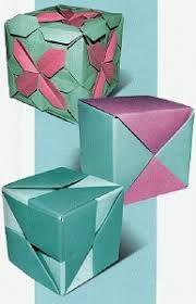 Znalezione obrazy dla zapytania origami pudełka świąteczne