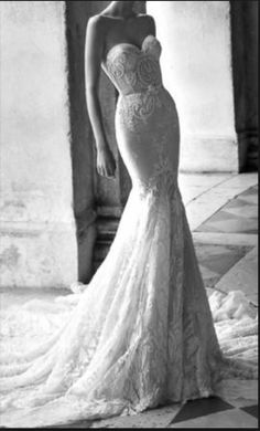 Inbal Dror 15-16 wedding dress currently for sale at 31% off retail.