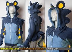 Custom Hoodie: Anime Lion :3 Here's a link to order a one of a kind custom hoodie of your own: http://www.lemonbrat.com/customs/