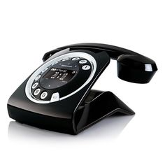 Charmant Sagemcom Sixty Digital Cordless Retro Style Telephone With Answering  Machine   Black