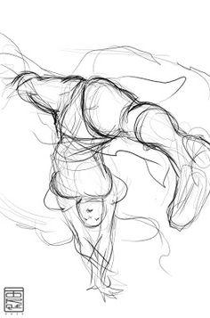 http://elizabethtorqueart.blogspot.com.es/ Body Drawing, Gesture Drawing, Drawing Poses, Manga Drawing, Drawing Tips, Character Sketches, Character Design References, Drawing Sketches, Art Drawings