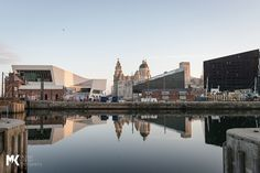 Liverpool's iconic waterfront looking on point as the spring sun rises over it.