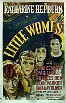 Little Women (1933) --like all girls of my era when this was still a popular book I read it  and then saw all the movies over the years