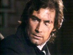"Jane Eyre - ""Am I hideous Jane?"" ""Yes sir you always were you know."" When said to Timothy Dalton also known as Mr Rochester, I always think - is she blind? Even with the scar he is handsome."
