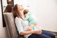 So ist es wirklich, den ganzen Tag mit einem Baby allein zu zu Hause zu sein.