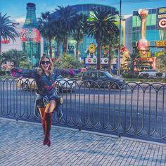 """""""Bommmmm dia Vegas ☀️ #lasvegas #cbblogers #eunagringa #vegas"""""""