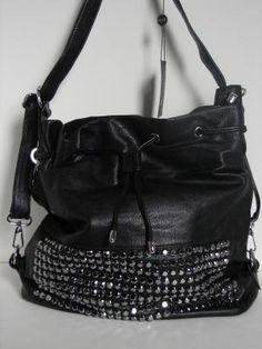 studded black bag