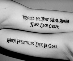 Remind Me That We'll Always Have Each Other When Everything Else Is Gone - Incubus