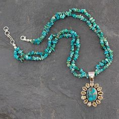 Turquoise Jewelry Outfit Sunny Sky - Opulent Indian Necklace with 7 Carats of Citrine Yellow Jewelry, Ruby Jewelry, Turquoise Jewelry, Jewelry Gifts, Beaded Jewelry, Jewelry Accessories, Jewelry Necklaces, Beaded Necklace, Pendant Necklace