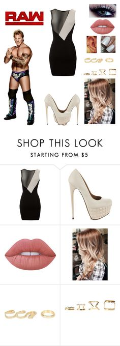 """""""Time Of The Month-Chris Jericho"""" by queenreigns-916 ❤ liked on Polyvore featuring Lipsy, Liliana, Lime Crime, Free People, River Island, Charlotte Russe and WWE"""