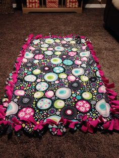 1000 Images About Tie Blankets On Pinterest Tie