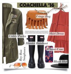 """""""PACK FOR COACHELLA"""" by tiziana-melera ❤ liked on Polyvore featuring Ray-Ban, Hunter, Études, Sole Society, Casetify, contestentry, polyvoreeditorial and packforcoachella"""