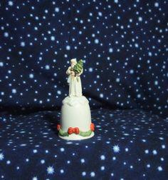 Enesco Porcelain Father Christmas Santa Clause by BeanzVintique, $15.00