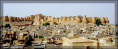 Jaisalmer Fort  Jaisalmer Fort is one of the largest fortifications in the world. It is situated in the city of Jaisalmer, in the Indian state of Rajasthan. It is a World Heritage Site.