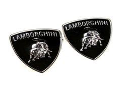 Lamborghini Cufflinks.  The Lambo Emblem On These Great Cufflinks.  Batman / Dark Knight Emblem Shaped Cufflinks.  Available from www.cufflinkswarehouse.com/category/fun-cufflinks