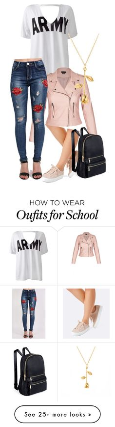"""""""Army with a twist"""" by melllybear on Polyvore featuring Sans Souci and Pilot"""