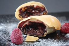 Chocolate And Raspberry Strudel For NTTC May 2009