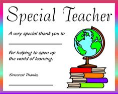 teacher appreciation ideas | Teacher Appreciation Ideas