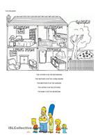 This worksheet can either be used as an individual or team reading exercise (page 1) or as a team game (page 2). It contains easy vocabulary and is suitabl for beginners and elementary students (theme: things found in the house). As an extension, you can even make it into a writing lesson which students will surely enjoy. Full instructions provided on page 3. Have fun. - ESL worksheets