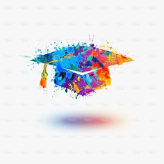 Find Mortar Board Graduation Cap Vector Watercolor stock images in HD and millions of other royalty-free stock photos, illustrations and vectors in the Shutterstock collection. Graduation Pictures, Graduation Cards, Tattoo Pain, Art Basics, Paper Cards, Cards Diy, Watercolor Cards, Watercolor Ideas, Instagram Highlight Icons