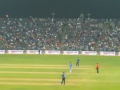 Live cricket Match at a stadium