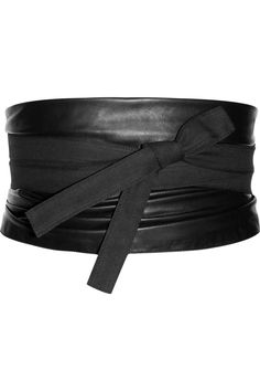 Maison Martin Margiela. Leather and canvas obi belt  Am I the only person catching a Star Wars Vibe lately?