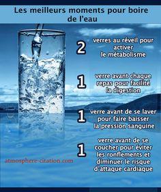 Meilleurs moments pour boire de l'eau Nous savons tous que l'hydratation est essentielle pour une bonne santé, mais chronométrer votre consommation d'eau peut être tout aussi important. De nombreuses études scientifiques ont montré que l'eau potable à certains moments de la journée peut optimiser les avantages pour la santé. Après le réveil, essayez d'obtenir …