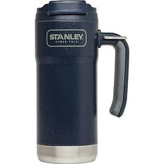 Vacuum mug - £20 - Stanley Adventure Outdoor Vacuum Insulated Travel Mug Hammerton, 0.47L, Navy in Home, Furniture & DIY,Cookware, Dining & Bar,Food & Kitchen Storage | eBay