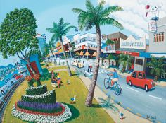 Image Gallery Fair Grounds, Wall Art, Gallery, Painted Walls, Fun, Painting, Image, Graphics, Drawings
