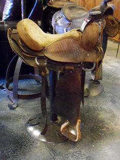 saddle bar stool