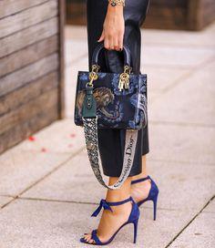 "cb5e04d6740 Marcella Tranchesi on Instagram  ""AMO combinar preto com azul 💙 sempre  acho que dá"