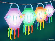 Aprende a hacer un farol para las fiestas vía es.wikihow.com