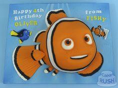 Custom cakes made in Cheshunt Nemo Cake, Custom Cakes, How To Make Cake, Tweety, Birthday, Happy, Character, Personalized Cakes, Birthdays