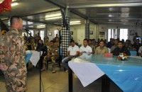 241 Personil Konga TNI Lebanon Cuti dan Umroh