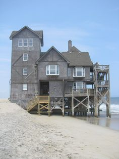 Nights in Rodanthe house south side 2009 - Rodanthe, North Carolina - Wikipedia, the free encyclopedia Outer Banks North Carolina, North Carolina Beaches, Outer Banks Nc, North Carolina Houses, North Carolina Usa, Rodanthe North Carolina, Save For House, Lakeside Living, Hatteras Island