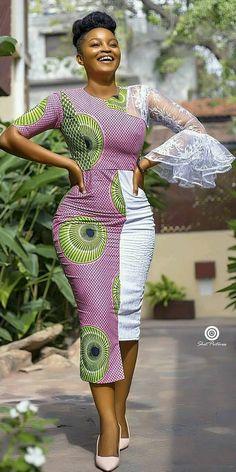ankara stil Visit the post for more. African Fashion Ankara, Latest African Fashion Dresses, African Inspired Fashion, African Print Dresses, African Print Fashion, African Dress, African Prints, African American Fashion, Ghanaian Fashion