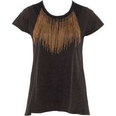 DIY Inspiration : Top à franges | Fringe top | I love DIY
