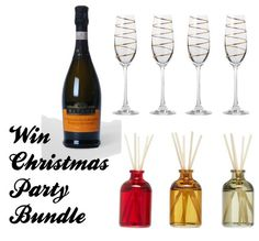 Day 4 of Lilinha Angel's World 12 Days of Christmas: Competition to Win Christmas Party Bundle with Gold Flutes and Prosecco